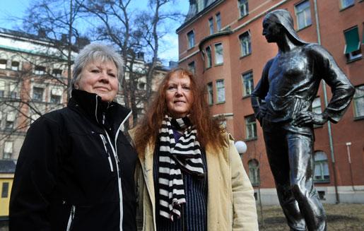 Lotta Durgé och Kjersti Bosdotter