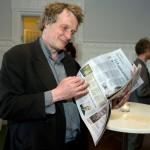 Björn Cederberg, filmare och flitig skribent på LO-Tidningens kultursida.
