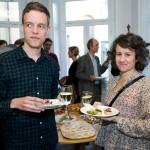 Johan Rydstedt, utredare på Arbetarrörelsens tankesmedja, och Marie Näslund.