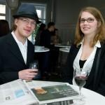 Kalle Eriksson, litteraturstudent, och Maja Wastensson, jobbar i bokhandel.