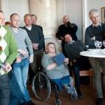 Intresserade gäster: Johan Lundberg, Socialdemokraterna Nisse Nobrand, Seko Tele, Erland Olauson, Maria Johansson, DHR, Lars Ahlenius, Seko Tele, Dan Holke, LO-TCO Rätsskydd och Ronny Wenngren från Elektrikerna.