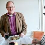 Elektrikernas Ronny Wenngren språkade med LO-Tidningens Johanna Wreder.