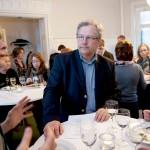 Kommunalarbetarens chefredaktör Liv Beckström träffade LO:s förre vice ordförande Erland Olauson.
