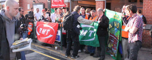 Manifestation i London