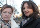 Eliana Carvacho och Gyöngyver Meszaros.