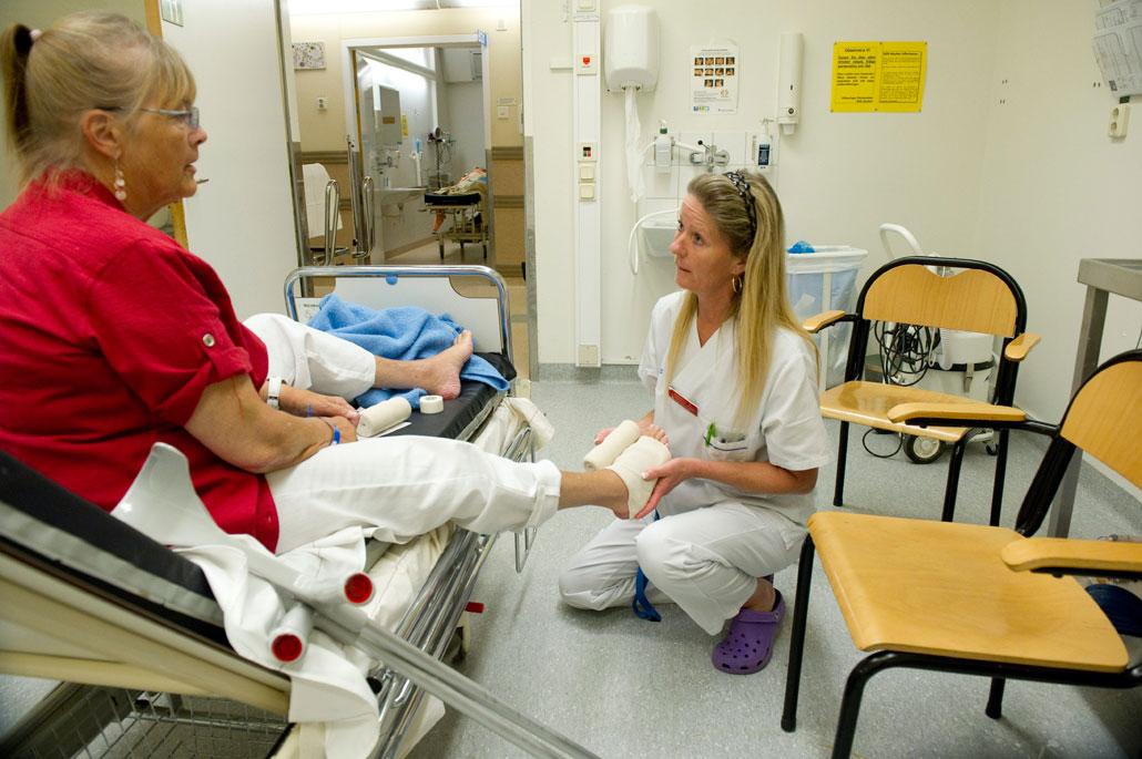 Vad gör en undersköterska