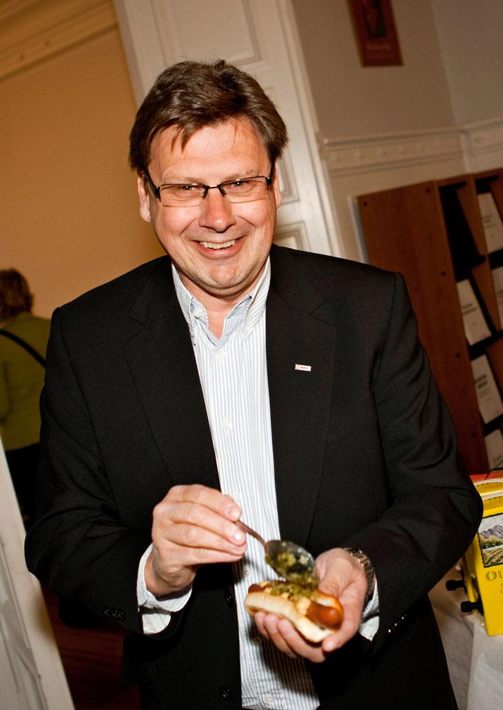 Lars Ankarfjäll tog för sig av bostongurka.