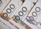 Svenska sedlar, tusenlappar