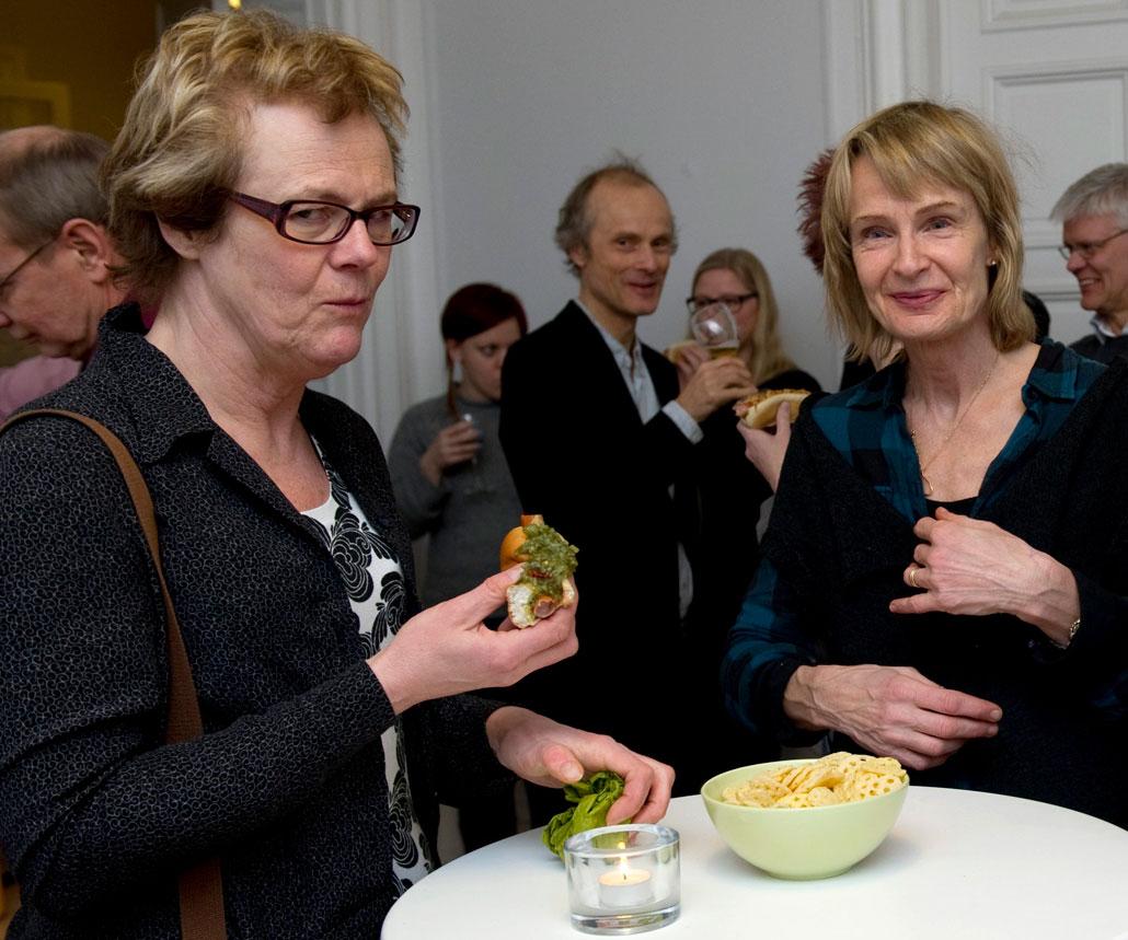 Jeanette Herulf, Dagens Arbete, och Liv Beckström, Kommunalarbetaren.