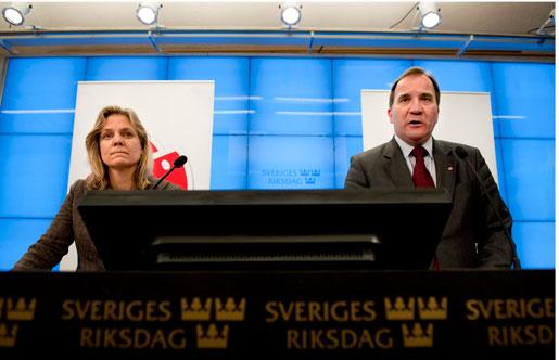 Magdalena Andersson och Stefan Löfven