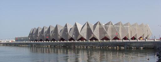 Baku Crystal hall byggdes färdig precis i tid för Eurovision song contest. 26 låtar tävlar i finalen.