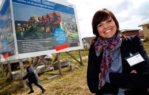 Elina Johansson har projektlett ett bygge av ett nytt bostadsområde i utkanten av Berlin.