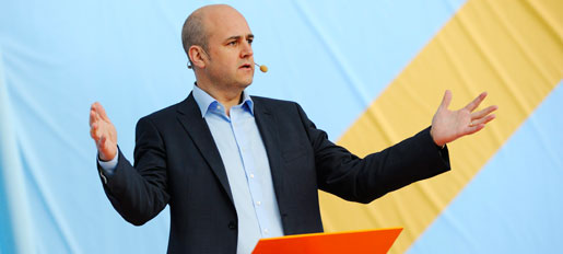 Fredrik Reinfeldt i Almedalen 2012
