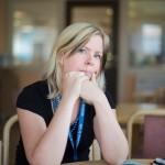 – Under våren var arbetsmiljön vid bristningsgränsen, folk föll ihop och grät över situationen, berättar Anna Carlsson, LR-ordförande och huvudskyddsombud.