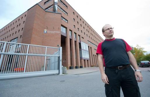 Patrik Öhrnell är kriminalvårdare och Sekoklubbordförande på häktet i Flemingsberg.