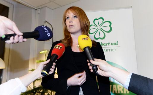 Centerledaren Annie Lööf har varit hårt pressad sedan debatten om partiets idéprogram startade.