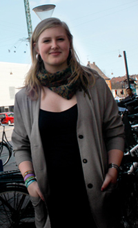 Vera Rosenbeck, ordförande för Danske Skoleelever, är nöjd över regeringens ingripande.