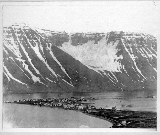 Ísafjördur cirka 1910.