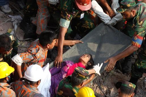 Reshma Begum räddades på fredagen ur rasmassorna efter fabriksbyggnaden som kollapsade den 24 april.