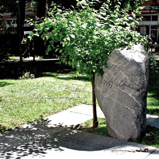 Olof Palmes grav på Adolf Fredriks kyrkogård