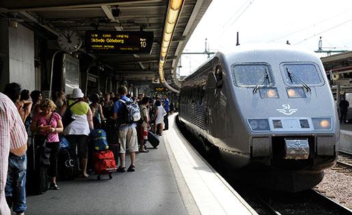 SJ-tåg Stockholm Göteborg
