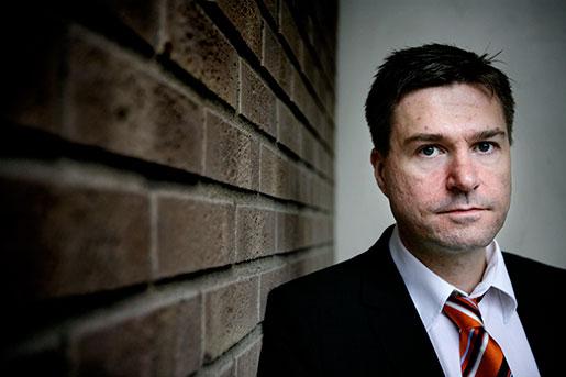 – Tillbuden är varningssignaler och måste tas på allvar, säger Arbetsmiljöverkets generaldirektör Mikael Sjöberg. Foto: Jessica Gow