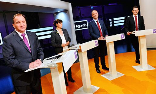 Samtliga oppositionspartier har presenterat sina budgetförslag. Foto: Jonas Ekströmer