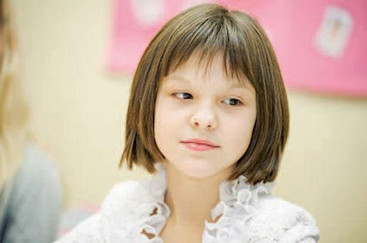 – Mamma åkte utomlands för ett halvår sen, Milana Filenkova, som går i femte klass. Foto: Svetlana Pokule