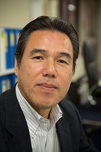 Nobuyuki Shintani är ledare för den japanska motsvarigheten till LO: Rengo.