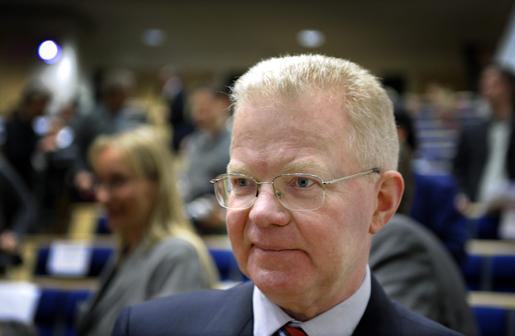 Finansmannen Fredrik Lundberg, som högsta chef för Lundbergföretagen, en inkomst som motsvarar vad 1 250 industriarbetare tjänar. Foto: Anders Wiklund