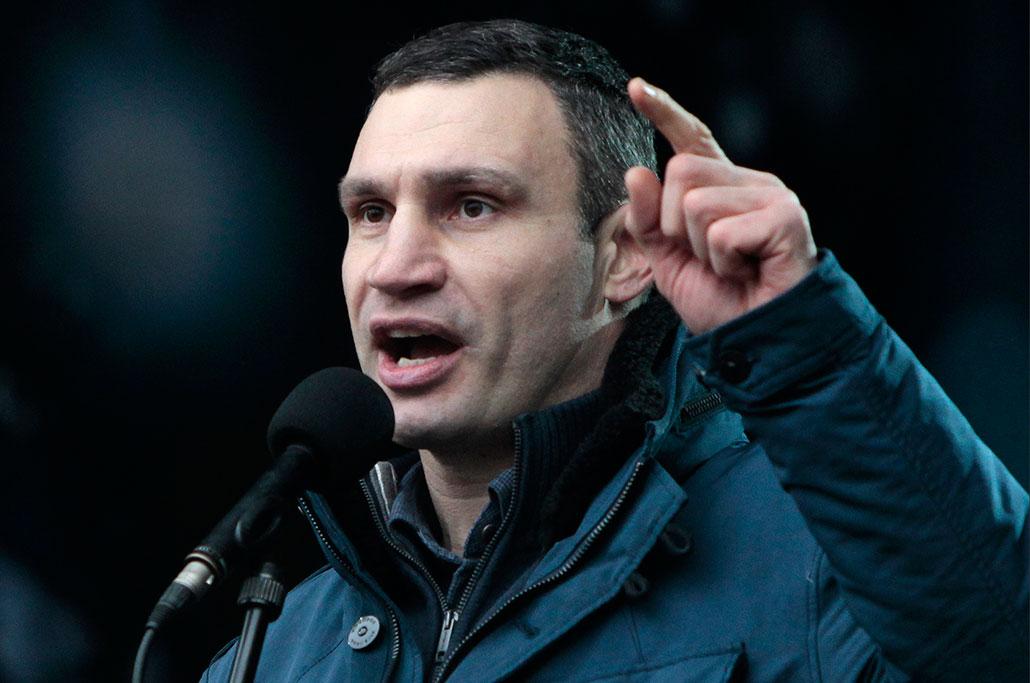 Vitalij Klitjko. Foto: Sergei Chuzavkov