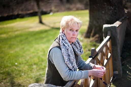 Tina Skoglund. Foto: Lina Alriksson