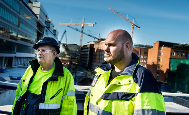 Stefan Slottensjö och Mattias Jansson var beredda att gå i strejk.Foto: Pontus Lundahl