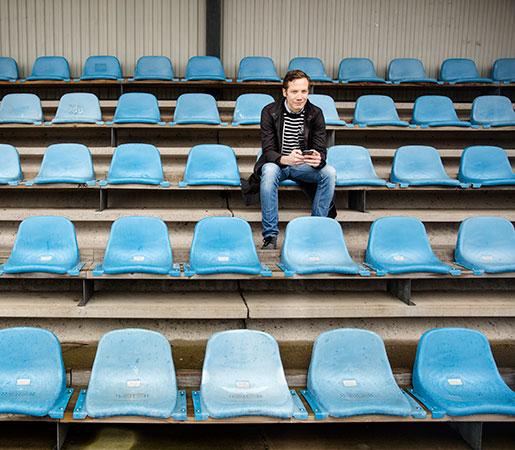 – Målet är att höja publikens upplevelse, inte att leka stjärna själv, säger Anders Bjuhr om sitt uppdrag.Foto: Ola Torkelsson