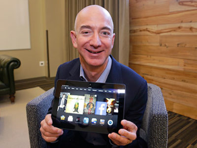Jeff Bezos. Foto: Ted S Warren