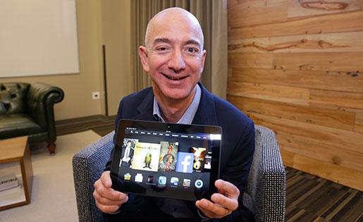 Jeff Bezos. Foto: Ted S Warren