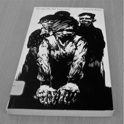 """Första delan av den självbiografiska sviten, """"Av dig blir det ingenting"""", med omslagsbild av Dan Jonsson (Arbetarkultur 1976)"""