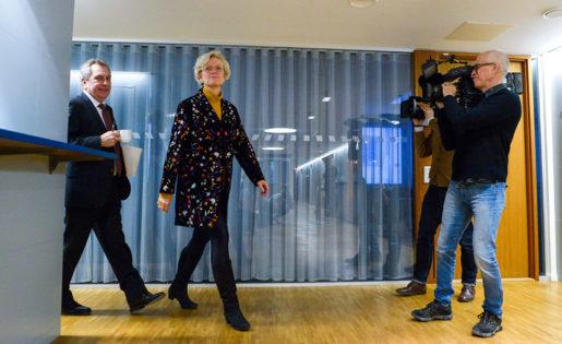 Carola Lemne presenterades som ny vd på Svenskt näringsliv i december förra året. Foto: Janerik Henriksson