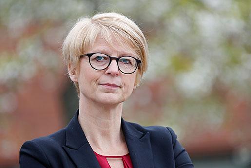 Elisabeth Svantesson. Foto: Sören Andersson