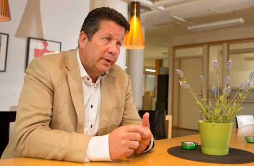 Mikael Danielsson anser att strejk är en alldeles för kraftfull åtgärd.Foto: Drago Prvulovic
