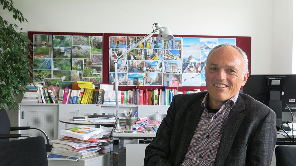 –Vi tycker inte att vi har låg arbetslöshet, säger Josef Wallner på på Arbetarkammaren. Foto: Anna Fredriksson