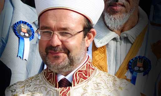 Mehmet Görmez, Turkiets högste religiöse ledare, är skarpt kritisk mot regeringen efter gruvolyckan. Foto: AP