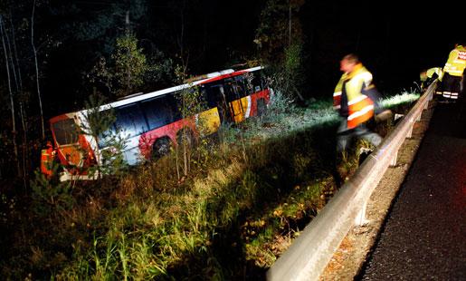 Trötthet är en allvarlig olycksrisk för kollektivtrafiken. Nästan en av fem busschaufförer uppger att de varit med om en incident på grund av trötthet. Foto: Stefan Jerrevång