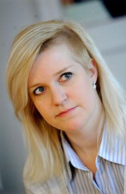 Jenny Bengtsson, Hotell- och Restaurangfacket, har svarat på Köks-Emmas insändare under signaturen Receptionist-Jenny. Foto: Erik Mårtensson