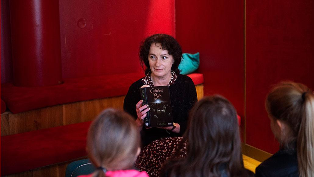 Angela Jaconelli Lind. Foto: Fanni Olin Dahl