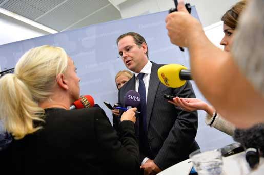 Anders Borg söker nytt jobb. Foto: Jonas Ekströmer