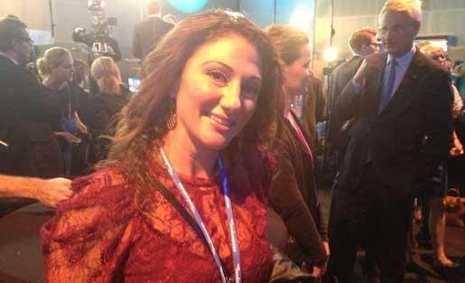 Åtta år av Allianspolitik har varit bra för Malin Yildiz. Foto: Charlotta Kåks Röshammar