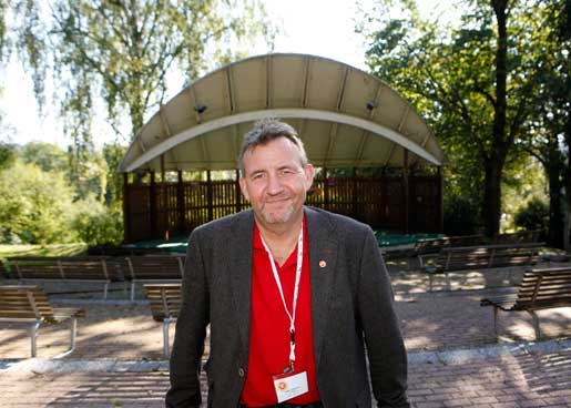 Matts Jutterström valdes enhälligt till Pappers nya förbundsordförande på kongressen i Sundsvall i lördags, sedan den tidigare ordföranden Jan-Henrik Sandberg i sista stund dragit tillbaka sin kandidatur.Foto: Mats Andersson