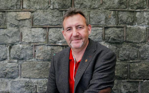 Matts Jutterström valdes till ny ordförande för Pappers under kongressdagarna i Sundsvall. Foto: Mats Andersson