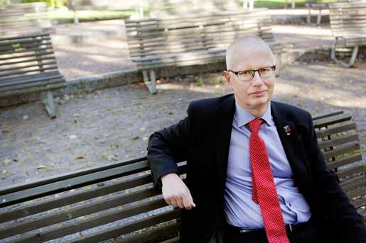 Jan-Henrik Sandberg. Foto: Mats Andersson